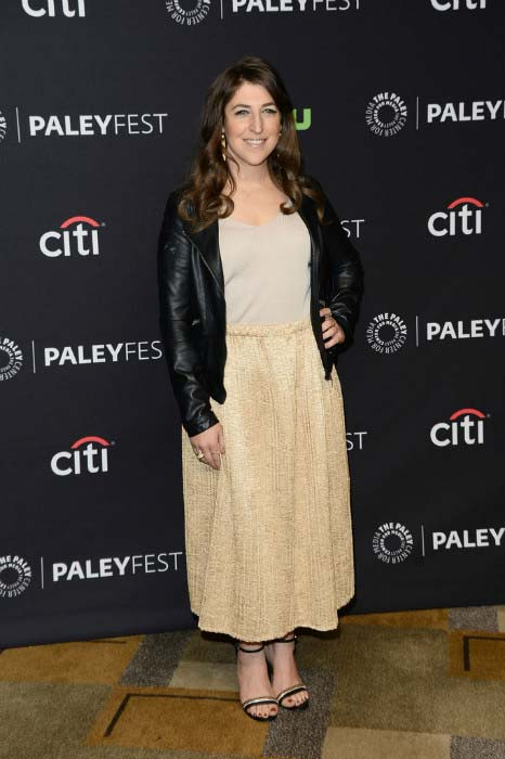 Mayim Bialik at PALEYFEST Los Angeles 'The Big Bang Theory' in March 2016