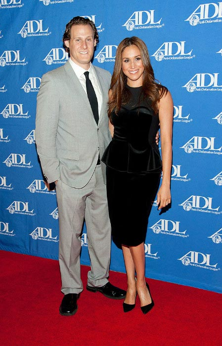 Meghan Markle with ex-husband Trevor Engelson at ADL event in 2011