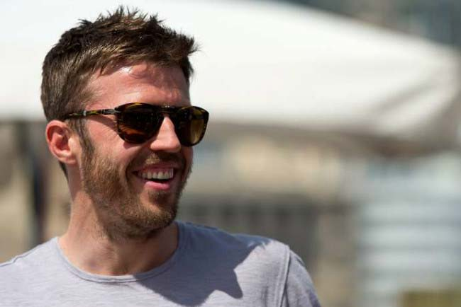 Michael Carrick at Red Bull Racing Energy Station at Monte Carlo, Monaco during F1 race in May 2016