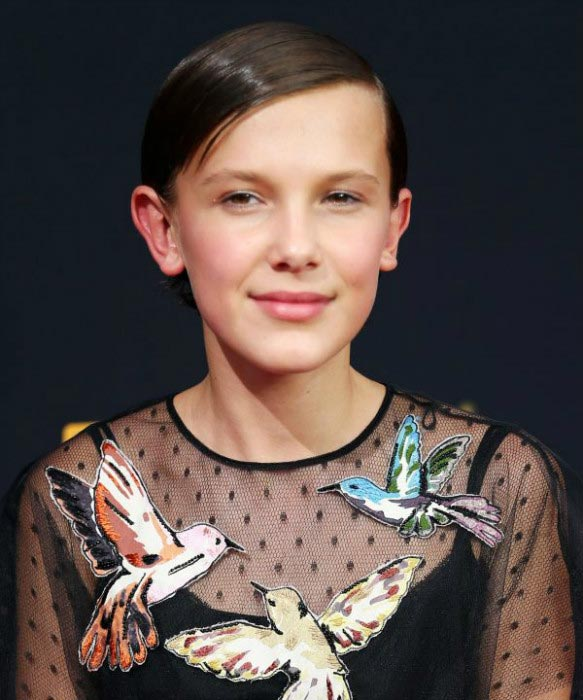 Millie Bobby Brown at 2016 Annual Primetime Emmy Awards