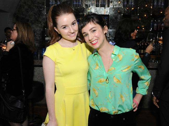 Molly Ephraim with her Last Man Standing co-star Kaitlyn Dever at the 2014 SAG Foundation Event