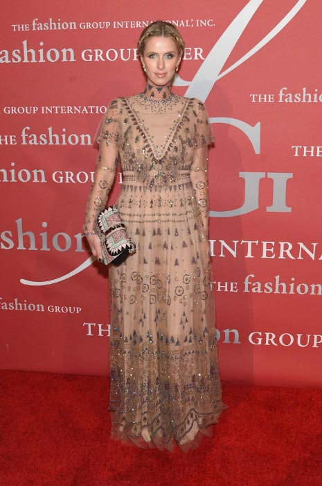 Nicky Hilton at the Fashion Group International Night Of Stars Gala in October 2016