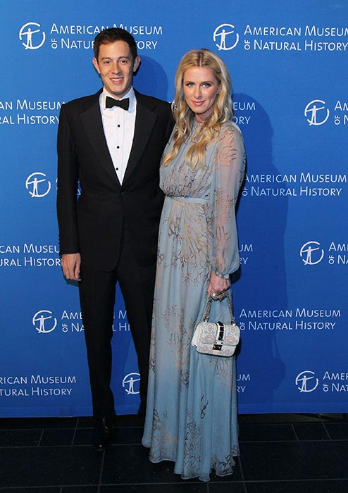 Nicky Hilton with husband James Rothschild at the American Museum of Natural History Dance in April 2015
