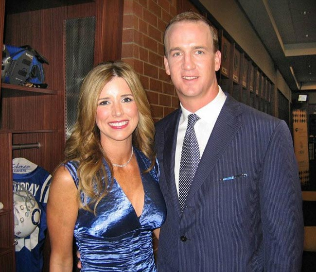 Peyton Manning and wife Ashley Thompson at the Second Annual Peyton Manning Children's Hospital Gala in Indianapolis in 2010