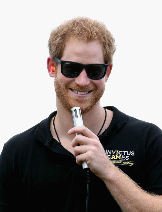 Prince Harry at the Invictus Games Orlando during ESPN Wide World of Sports in May 2016 in Florida