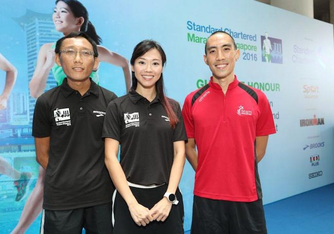 Quek EeMeng, Jaime Teo, and Wille Loo are three of the 15 SCMS 2016 ambassadors