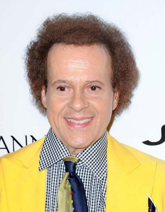 Richard Simmons at the Friend Movement Anti-Bullying Benefit Concert in July 2013