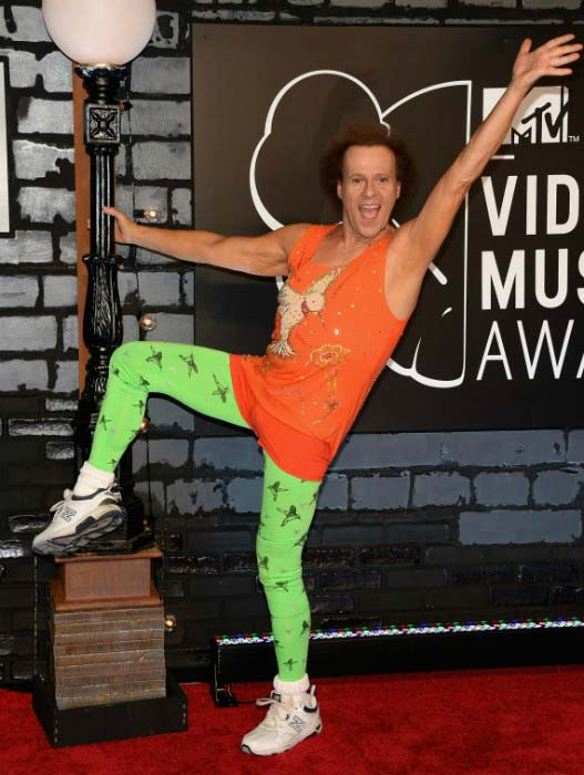 Richard Simmons at 2013 MTV Video Music Awards