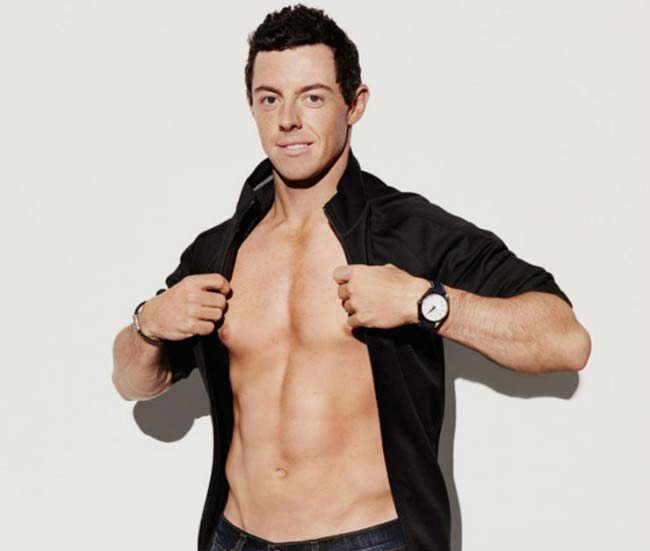 Rory McIlroy shows off his ripped body in photoshoot for Men's Health magazine in 2015