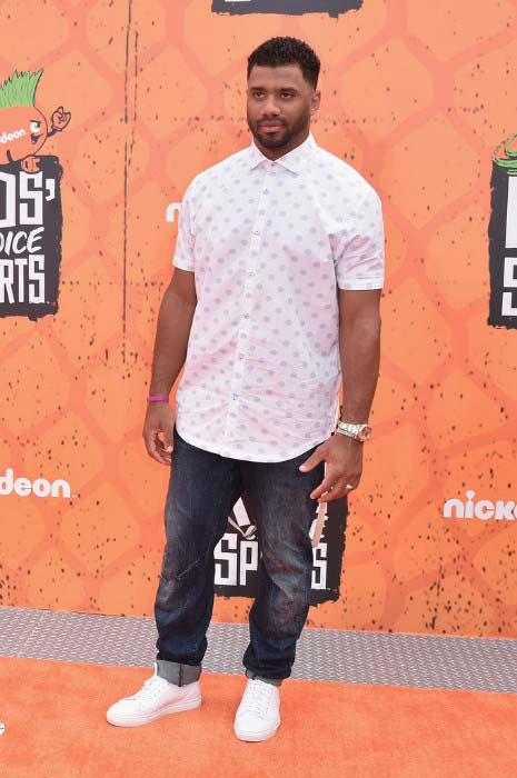 Russell Wilson Nickelodeon Kids' Choice Sports Awards 2016