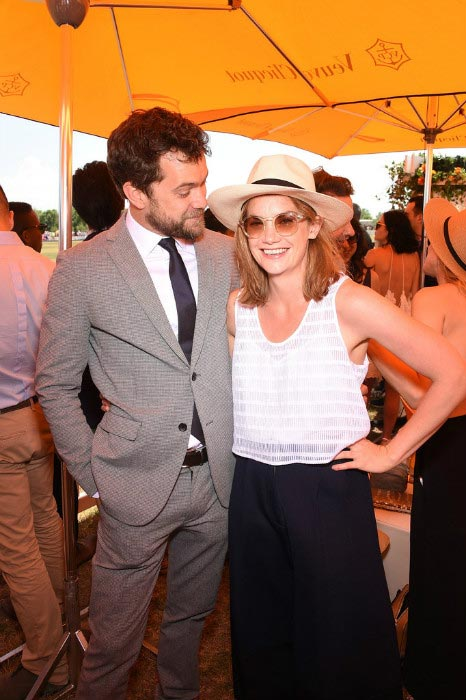 Ruth Wilson with Joshua Jackson at the Veuve Clicquot Polo Classic in Jersey City in May 2015