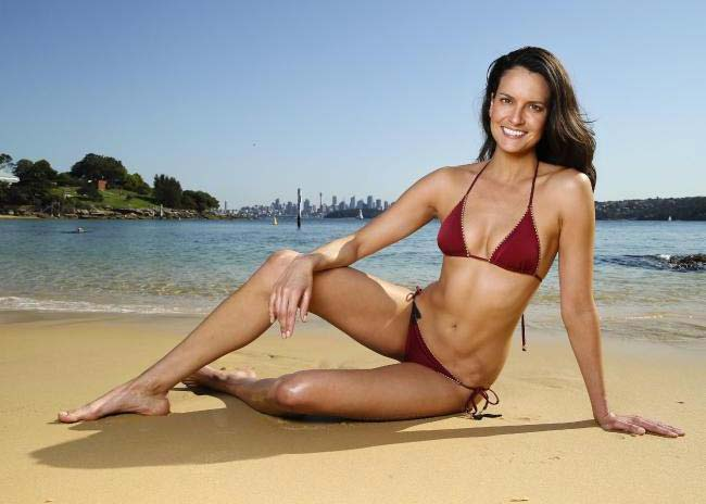 Tegan Haining hot bikini
