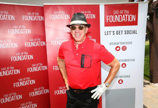 Tim Allen at the SAG-AFTRA Foundation L.A. Golf Classic Fundraiser in June 2016