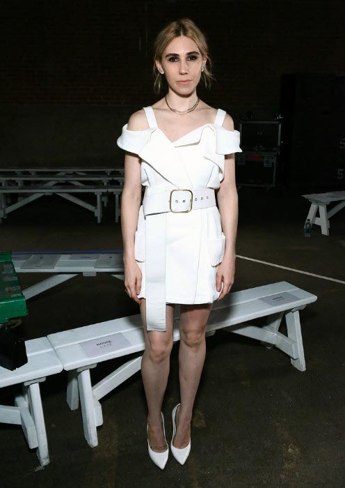 Zosia Mamet at the Monse fashion show during the New York Fashion Week in September 2016