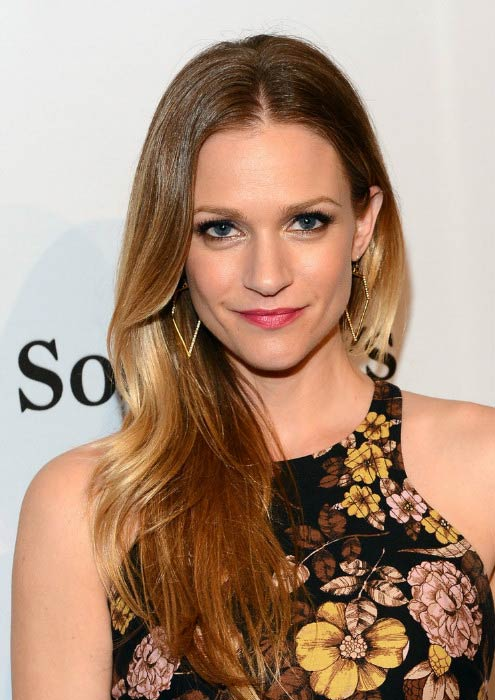 A. J. Cook at The Art of Elysium's 7th Annual 'Pieces Of Heaven' in February 2014