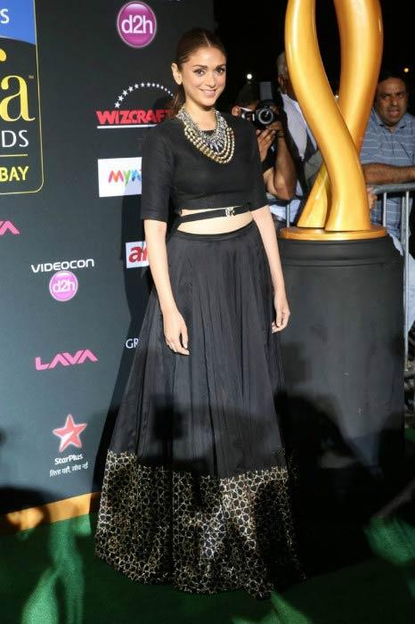 Aditi Rao Hydari at the International Indian Film Academy Awards in Tampa in April 2014