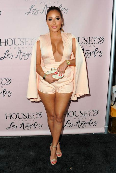 Adrienne Bailon at House of CB Flagship Store Launch in West Hollywood June 14, 2016