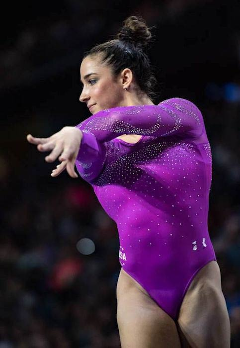 Aly Raisman at 2016 Pacific Rim Championships