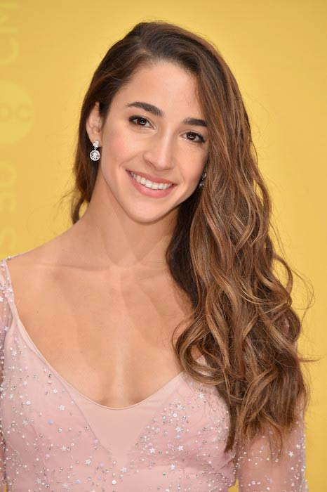 Aly Raisman at 50th CMA Awards in November 2016