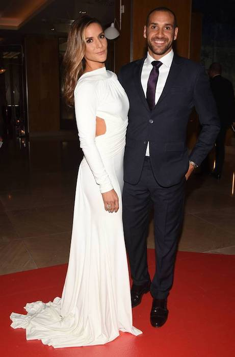 Amanda Byram and Julian Okines at The Pride of Ireland Awards 2016