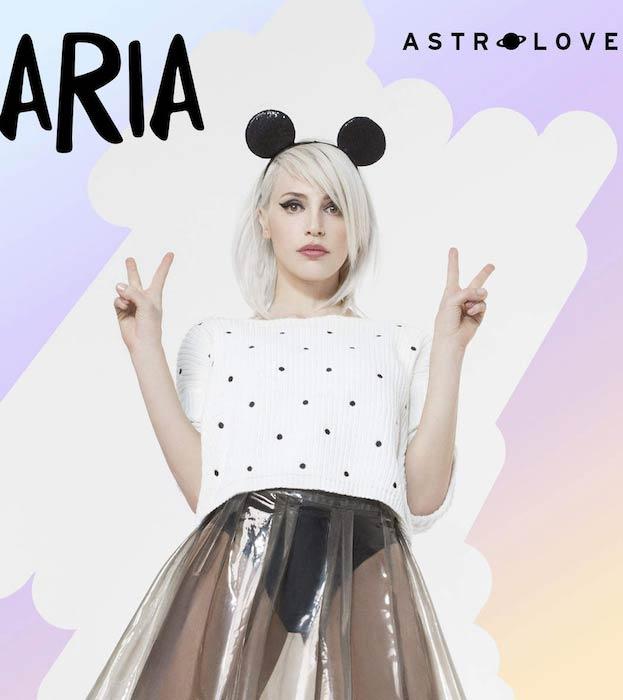Aria Crescendo's AstroLove Single's Cover in 2015