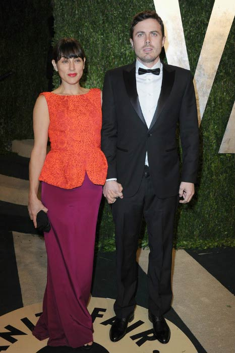 Ben Affleck and Summer Phoenix at the Vanity Fair Oscar Party in February 2013