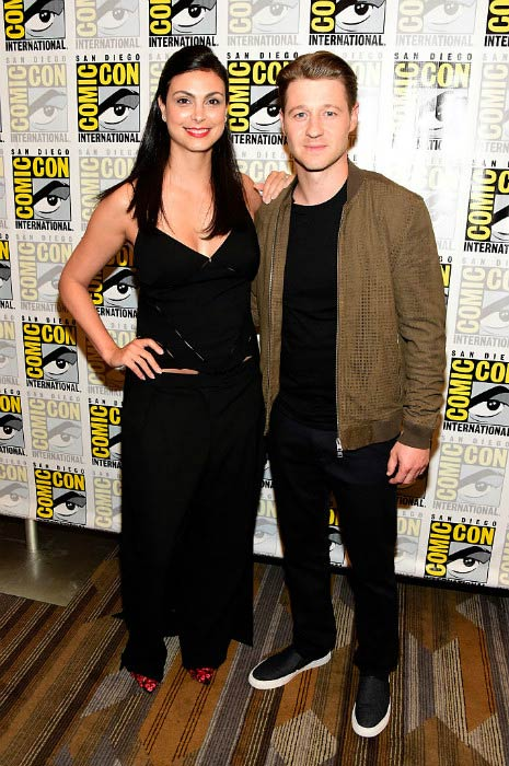 Ben McKenzie and Morena Baccarin during Comic-Con International in July 2016
