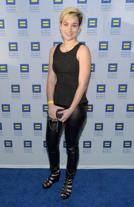 Bex Taylor-Klaus at the Human Rights Campaign Los Angeles Gala in March 2015