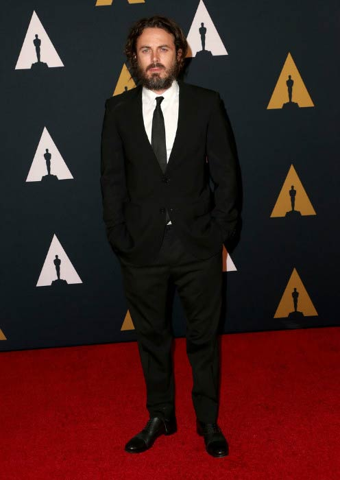 Casey Affleck at the Academy of Motion Picture Arts and Sciences event in November 2016