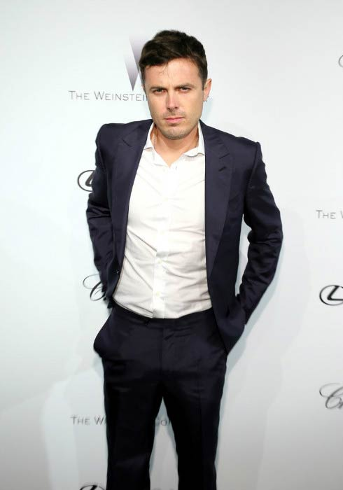 Casey Affleck at the Weinstein Company Party in Cannes in May 2013
