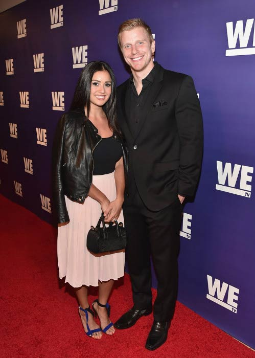 """Catherine Lowe and Sean Lowe at the WE tv presents """"The Evolution of The Relationship Reality Show"""" in March 2015"""