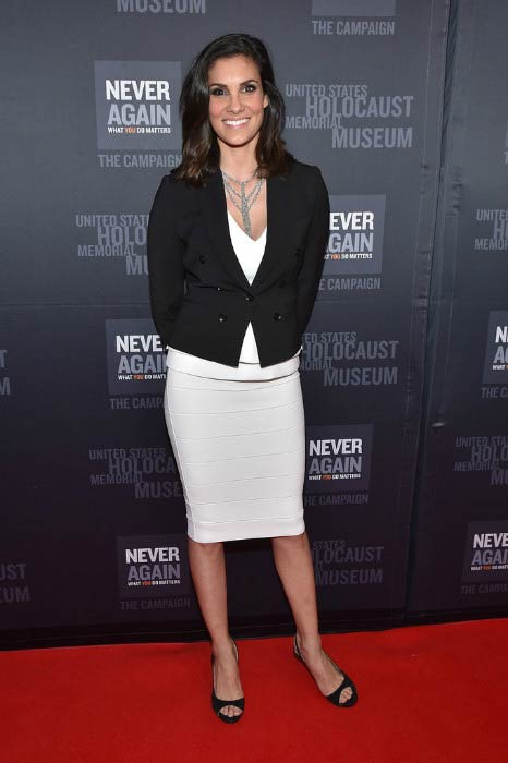 Daniela Ruah at the United States Holocaust Memorial Museum event in March 2016