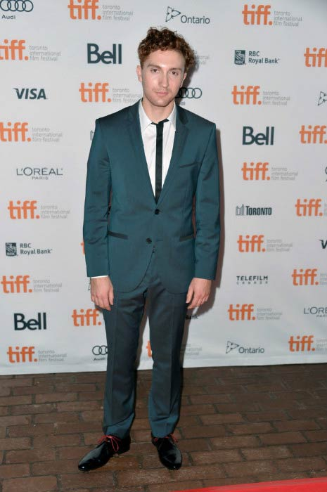 "Daryl Sabara at ""The Green Inferno"" premiere during Toronto Film Festival in September 2013"