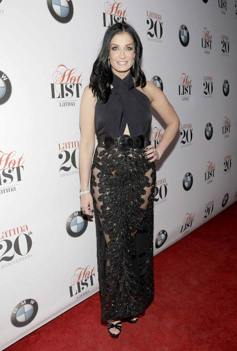 Dayanara Torres looks as fit as ever during Latina's 20th Anniversary celebrating the Hollywood Hot list honorees on November 2, 2016
