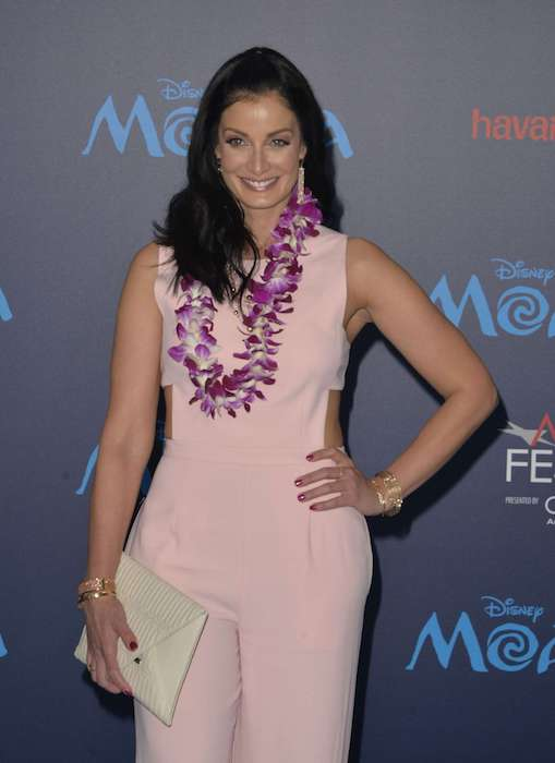 Dayanara Torres looks hot in pink at Disney's Moana World premiere in Hollywood on November 14, 2016