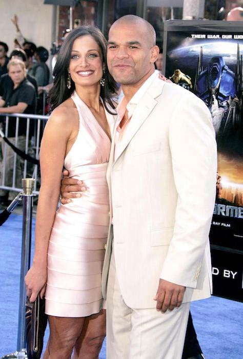 Dayanara Torres with ex-boyfriend Amaury Nolasco at Transformers premiere in Los Angeles on June 27, 2007