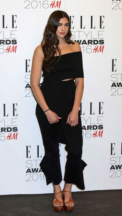 Dua Lipa at Elle Style Awards 2016