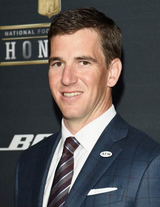 Eli Manning at the 5th Annual NFL Honors on February 6, 2016