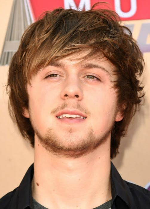 Ellington Ratliff at the iHeartRadio Music Awards in March 2015
