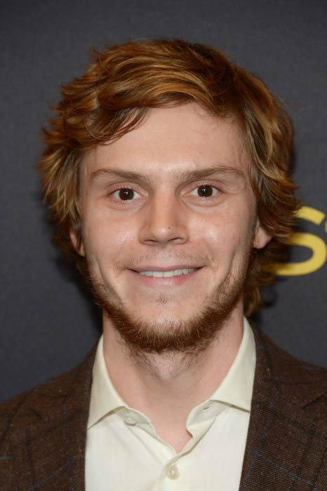Evan Peters at the Hollywood Foreign Press Association and InStyle event in November 2016