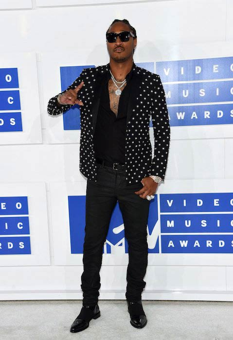 Future at the 2016 MTV Video Music Awards in Manhattan