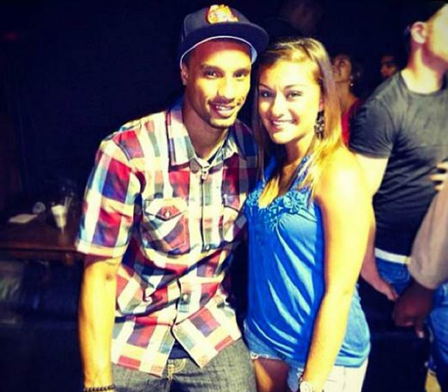 George Hill and girlfriend Samantha Garcia
