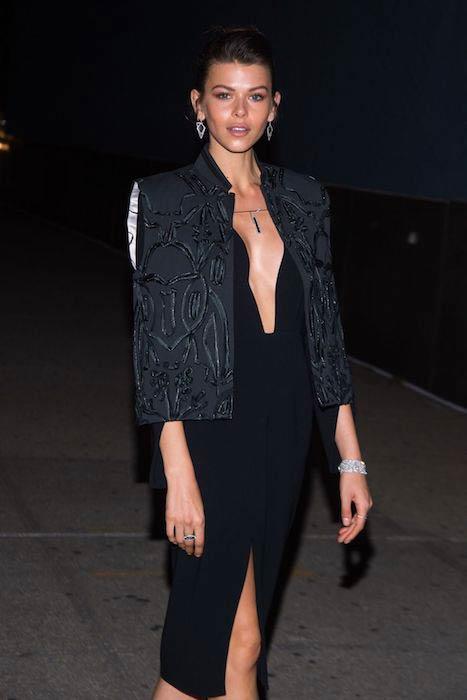 Georgia Fowler at CFDA / Vogue Fashion Fund Awards in New York City in November 2016