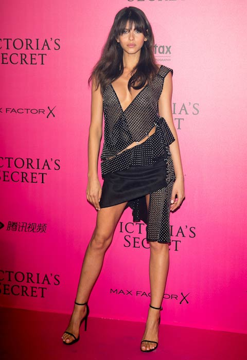 Georgia Fowler at Victoria's Secret Fashion Show 2016 after party
