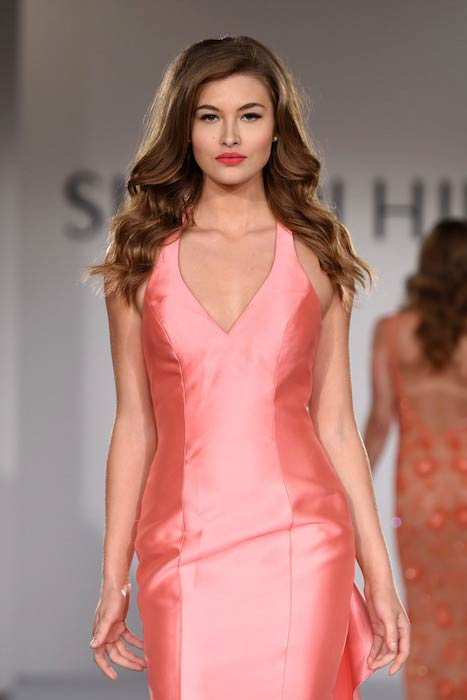 Grace Elizabeth at the Sherri Hill Spring 2016 Fashion Show at New York City Fashion Week
