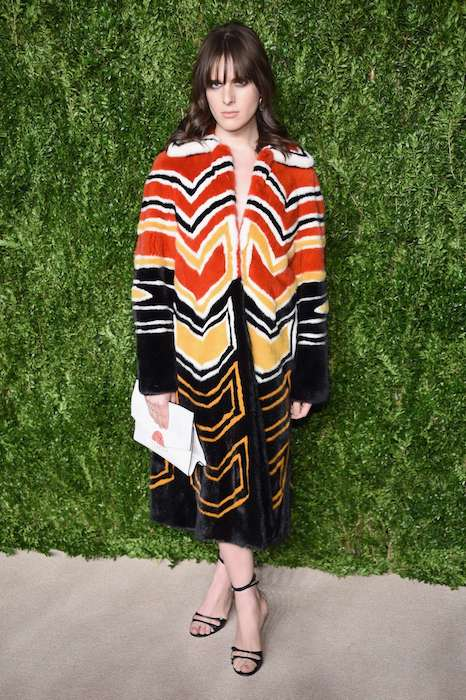 Hari Nef at CFDA Vogue Fashion Fund Awards in November 2016