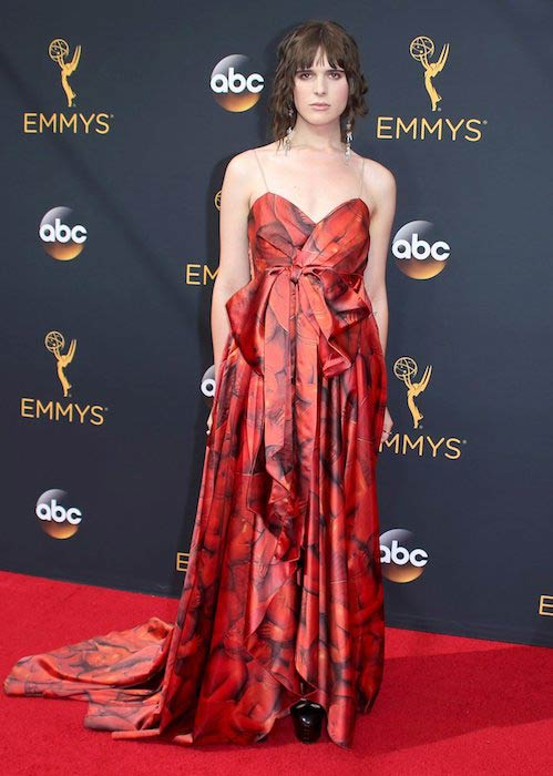 Hari Nef at Primetime Emmy Awards 2016