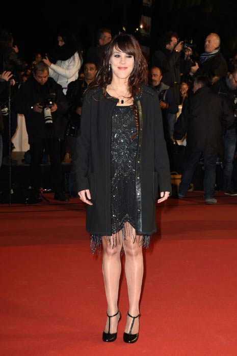 Isabelle Geffroy at the NRJ Music Awards during Palais des Festivals in December 2014