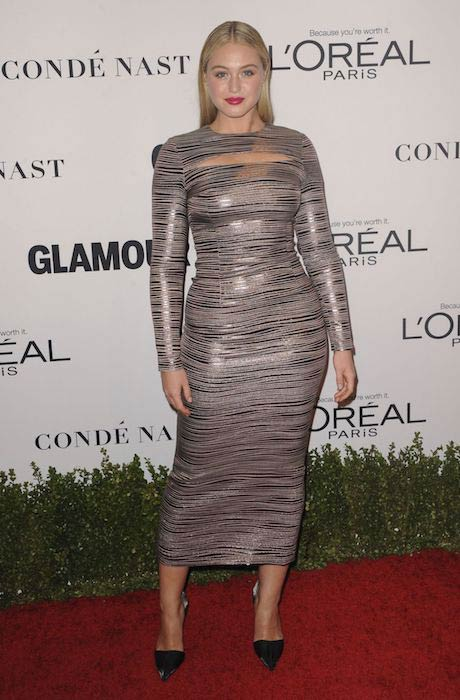 Iskra Lawrence at Glamour Women of the Year 2016