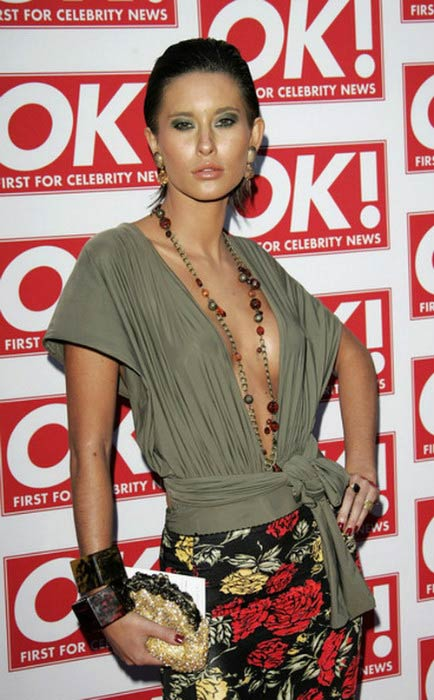 Jasmine Lennard at the 10th Anniversary Party for OK! Magazine in May 2006